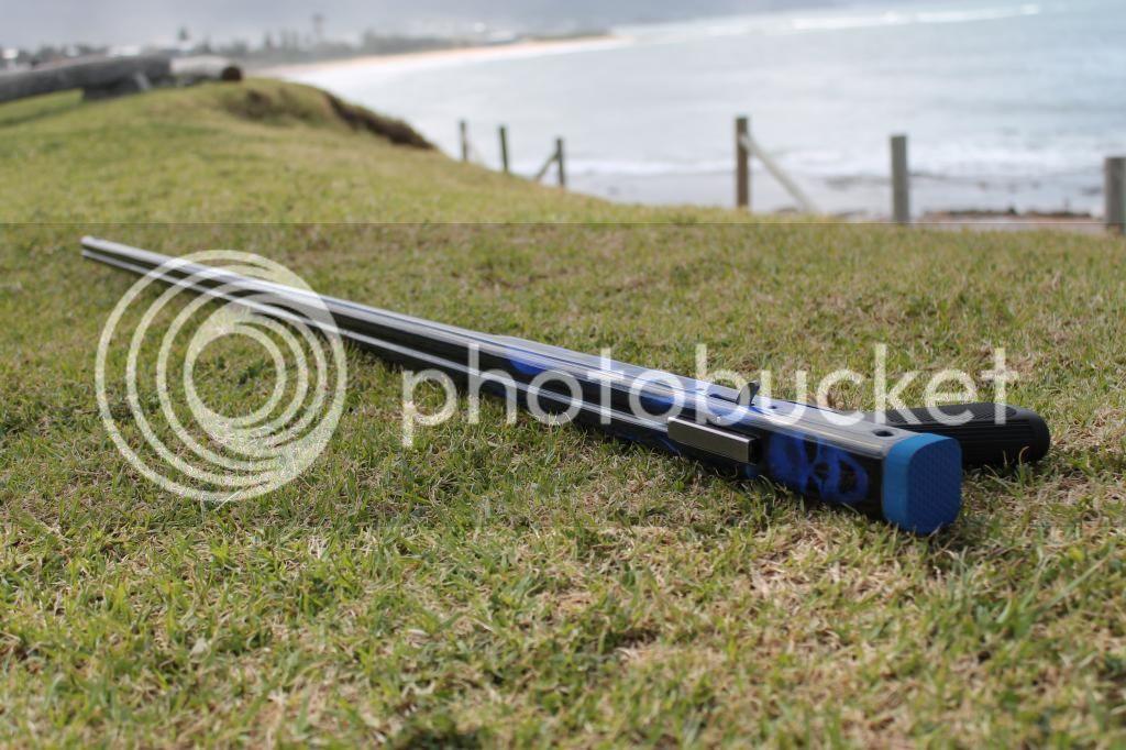 1 3m custom carbon fibre speargun - Spearguns Pole Spears