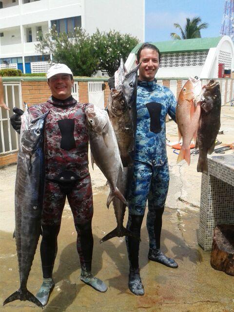 Pesca Marco y Miguel Mar'14