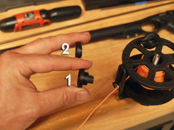 Speardiver-Reel-Free-Spool-Modification