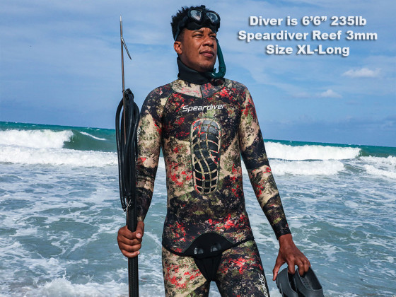 Speardiver Reef 3mm Spearfishing Wetsuit