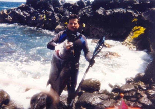 Spearfishing Ulua