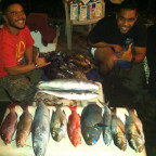 Days catch with Thom, Yonny and Myself