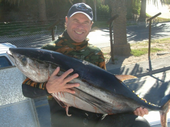 Record longfin tuna!