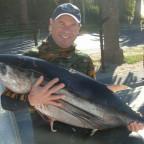 Record longfin tuna!