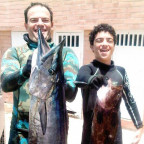 Spearfishing with Franco