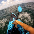 Kayak spearfishing